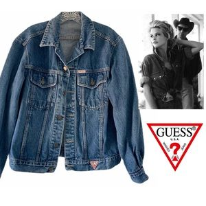 GEORGES MARCIANO FOR GUESS VINTAGE DENIM JACKET